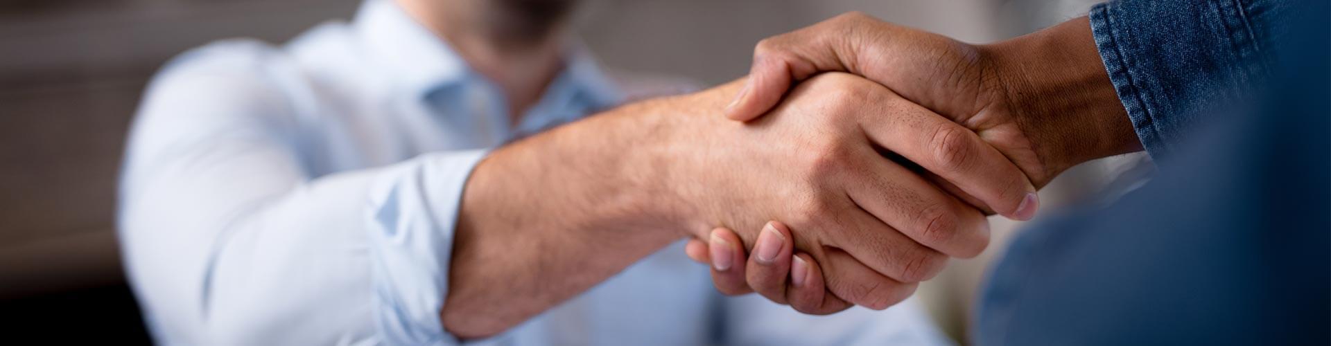 bKV Service Handschlag