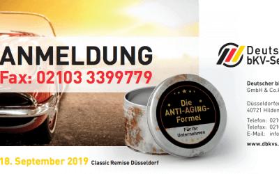 Veranstaltung: Die Anti-Aging-Formel für Unternehmen | 18.09.2019