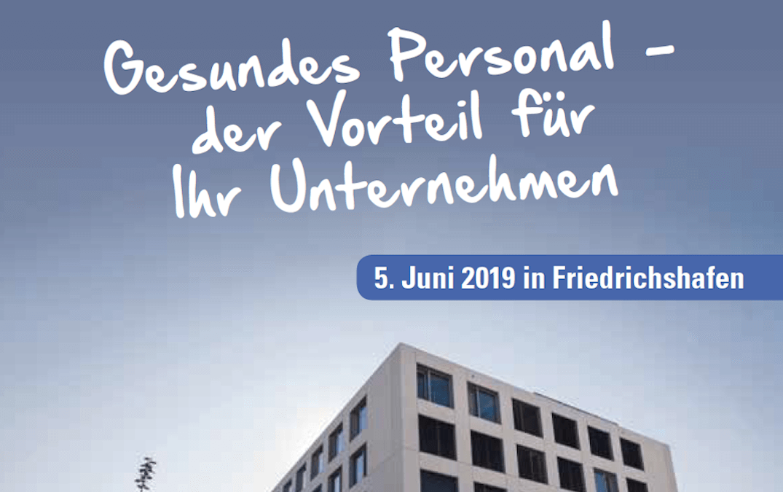 Veranstaltung: Prävention und Personalpolitik